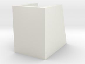 _8_Cylinderdisplay-45mm in White Natural Versatile Plastic