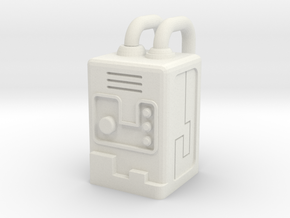 Gobot Portable Stealth Device in White Natural Versatile Plastic: Small