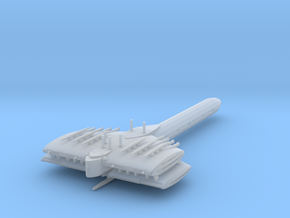 Last Exile. Turan Battleship in Smooth Fine Detail Plastic
