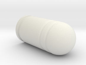 40mm grenade - 1:1 scale in White Natural Versatile Plastic