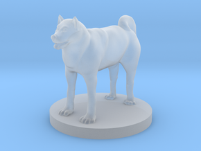 Shiba in Smooth Fine Detail Plastic