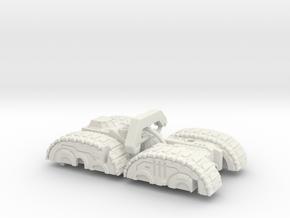 Doom Whisperer's Torso in White Natural Versatile Plastic