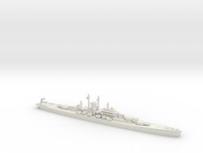 USS Des Moines 1/1250 in White Natural Versatile Plastic