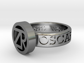 OZR-wrapFINAL in Polished Silver