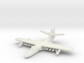 Northrop A-9 1/285 6mm in White Natural Versatile Plastic