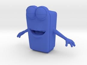 Bud in Blue Processed Versatile Plastic