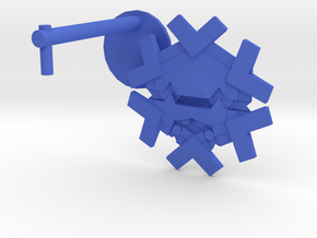 Cryogonal in Blue Processed Versatile Plastic