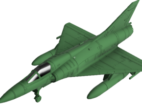 020O Mirage IIIEA 1/87 with Tanks and R530 in Smooth Fine Detail Plastic