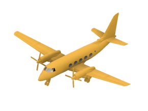 041A Grumman G-159 Gulfstream 1/144 FUD in Smooth Fine Detail Plastic