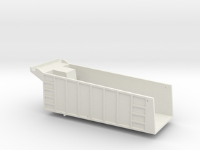 T800 Dump Body in White Natural Versatile Plastic