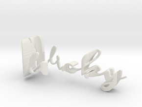 3dWordFlip: Vicky/Eric in White Strong & Flexible
