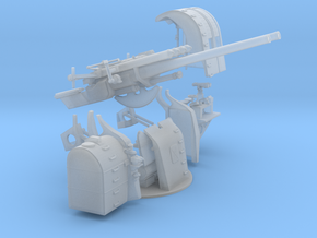 "1/72 IJN 12.7 cm/40 (5"") Type 89 Naval Gun KIT in Smooth Fine Detail Plastic"