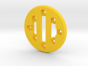 Сyclope bottom in Yellow Processed Versatile Plastic: Small