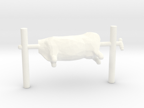 HO Scale Beef On A Spit in White Processed Versatile Plastic