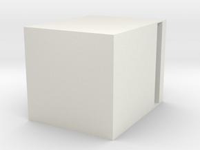 3dprint mullion in White Strong & Flexible: Medium