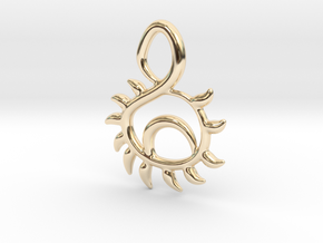 Sunset in 14k Gold Plated Brass