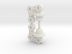 959-e10 springmount (set of 2) in White Natural Versatile Plastic
