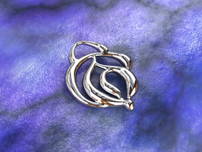 Touch of nature in Polished Silver