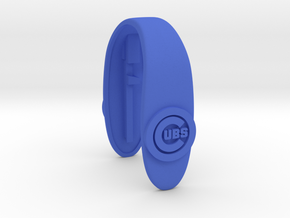 CUBS key fob  in Blue Processed Versatile Plastic