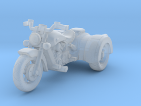 Indian Scout Custom Trike  1:87 HO in Smooth Fine Detail Plastic