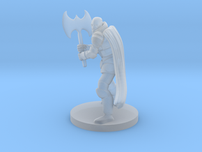 Warforged Great Weapon Fighter in Smooth Fine Detail Plastic