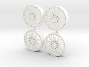 MST / CCW Classics Insert (x4) in White Processed Versatile Plastic