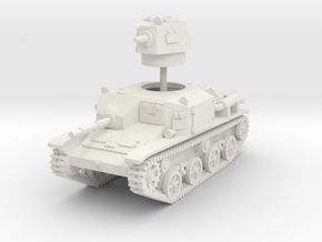 1/87 (HO)  Type 92 Jyu-Sokosha (late) in White Natural Versatile Plastic