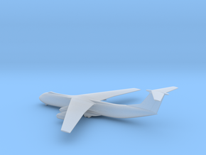 Lockheed C-141B Starlifter in Smooth Fine Detail Plastic: 6mm