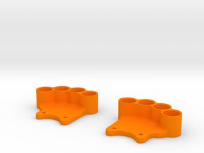 Weight Holder V2.0 (OD 85mm) in Orange Strong & Flexible Polished