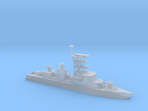 1/700 Scale Cyclone-class patrol ship in Smooth Fine Detail Plastic
