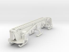 1/87 95' Tower Ladder Boom in White Natural Versatile Plastic