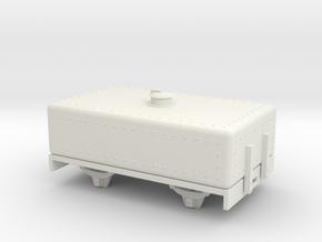 1:32/1:35 Tank Tar wagon in White Natural Versatile Plastic