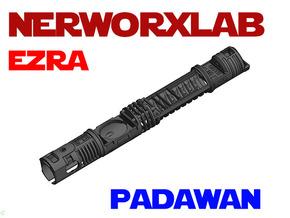 NWL Ezra - Padawan Lightsaber Chassis in White Natural Versatile Plastic