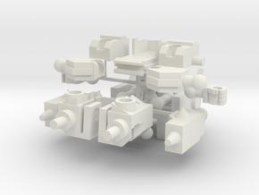 Monstrosity N-02: Sonic Chibi in White Natural Versatile Plastic
