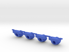 Axial Style Body Mount for LCG Chassis like JaBird in Blue Processed Versatile Plastic