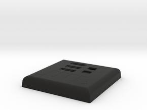 Darth Vader ESB Chest box with Back lid in Black Natural Versatile Plastic