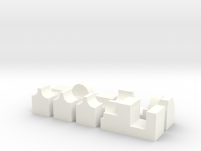 Darth Vader Chest Box Micro switches in White Processed Versatile Plastic