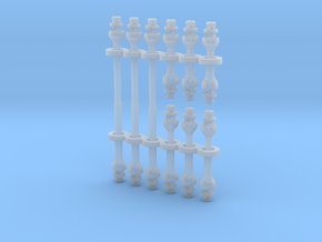 1/64 PTO Shafts in Smooth Fine Detail Plastic
