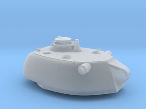 1:72 Paper Panzer E-50 128mm ausf D Turret in Smoothest Fine Detail Plastic