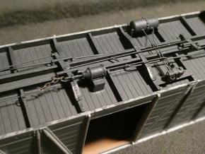 HO AB Brake System Kit in Smoothest Fine Detail Plastic: d00