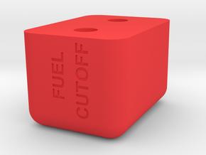 HFP-101035 Mixture Control Handle Knob in Red Processed Versatile Plastic