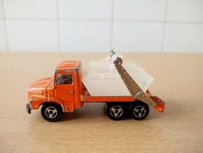 1/60 benne Majorette Scania / tipper in Smooth Fine Detail Plastic