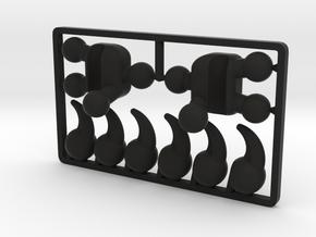 Creature Talon Set for ModiBot in Black Premium Strong & Flexible