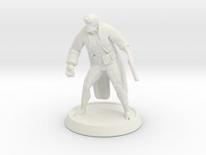 Hellboy in White Natural Versatile Plastic