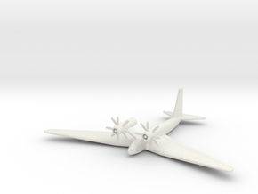 (1:144) Schnellbomber II in White Natural Versatile Plastic