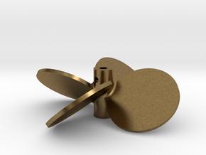 """2.50"""" - BBP 40º RH in Natural Bronze"""