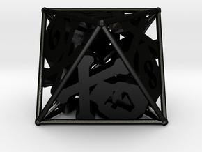 D8 Balanced [Beta] - Skull and Bones in Matte Black Steel