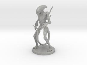Xenomorph Miniature in Raw Aluminum: 1:60.96