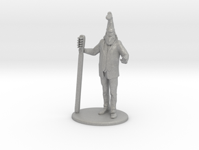 Vermin Supreme Miniature in Raw Aluminum: 1:60.96