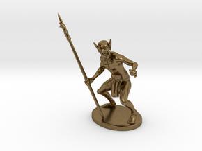 Ur-Vile Miniature in Natural Bronze: 1:60.96